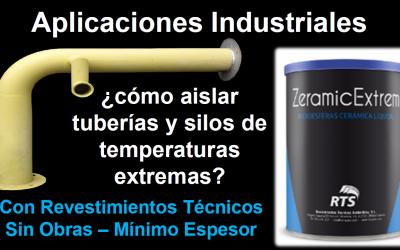 la industria puede aplicar aislantes térmicos en instalaciones como el METALLUM del fabricante RTS