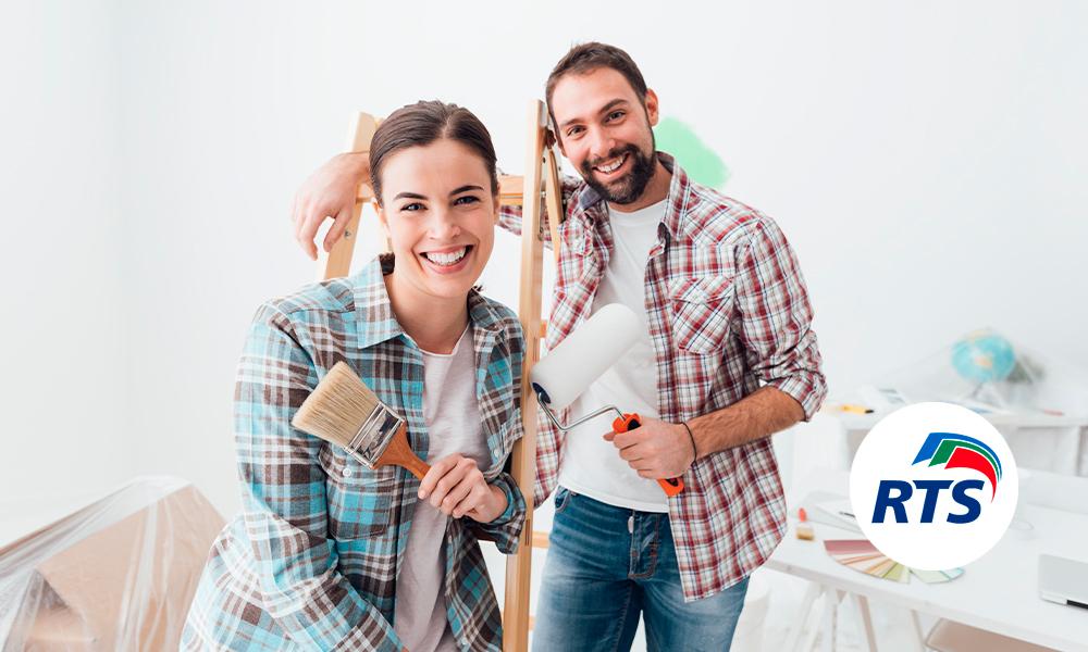 5 ideas fáciles y modernas de decoración en pared con pintura